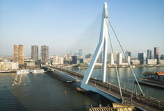 The Erasmus bridge Royalty Free Stock Photo