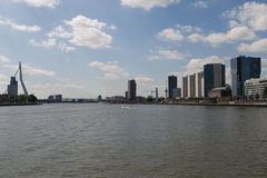 Erasmus bridge Rotterdam Stock Image