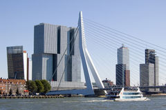 Erasmus Bridge, Rotterdam Stock Photos