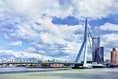 Erasmus Bridge in Rotterdam, Holland Stock Photo
