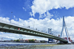 Erasmus Bridge in Rotterdam, Holland Royalty Free Stock Images