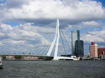 Erasmus Bridge in Rotterdam in the Netherlands Stock Photography