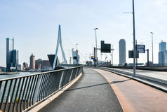 Erasmus bridge in Rotterdam Netherlands Holland Stock Photo