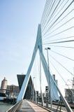 Erasmus bridge in Rotterdam Netherlands Holland Royalty Free Stock Images