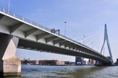 Erasmus bridge in Rotterdam Netherlands Holland Royalty Free Stock Photography