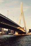 Erasmus Bridge Rotterdam, Südholland, die Niederlande Lizenzfreies Stockfoto