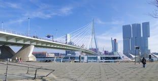Erasmus bridge Rotterdam Stock Photo