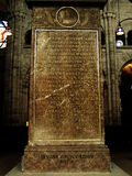 Erasmus da sepultura de Rotterdam Imagens de Stock Royalty Free