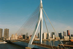Erasmus most Zdjęcie Royalty Free