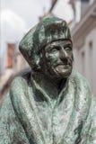 Erasmus. Statue of Erasmus, Dutch humanist, theologian and scholar Royalty Free Stock Image