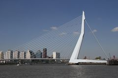 The Erasmusbrug Royalty Free Stock Image