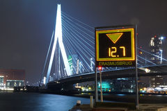 The Erasmusbrug Royalty Free Stock Photography