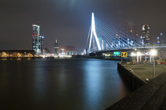 The Erasmusbrug Royalty Free Stock Photos