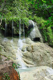 Eravan Waterfall, Kanchanabury, Thailand. For background Royalty Free Stock Photo