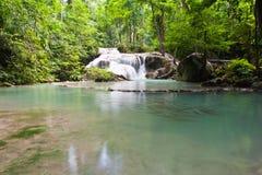 Eravan Waterfall, Kanchanabury, Thailand Stock Image