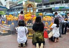 Erawan świątynia, Hinduska świątynia w Bangkok Fotografia Royalty Free