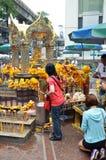 Erawan świątynia, Hinduska świątynia w Bangkok Obrazy Stock