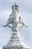 erawan αγάλματα ελεφάντων Στοκ Εικόνα