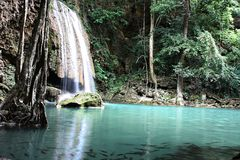 erawan водопад Стоковое Изображение RF