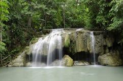 erawan водопад Стоковое Фото