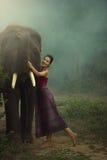 Erawan Таиланда Стоковое Фото
