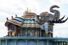 The erawan elephant. Royalty Free Stock Image