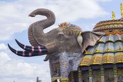The erawan elephant. Royalty Free Stock Photos