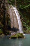 Erawan falls Royalty Free Stock Photo