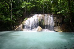 Erawan falls Royalty Free Stock Photos