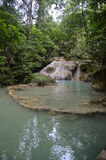 Erawan falls Stock Photos