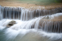 erawan kanchanaburithailand vattenfall Royaltyfri Foto