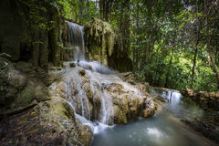 Erawan Nationalpark Ταϊλάνδη Στοκ εικόνες με δικαίωμα ελεύθερης χρήσης