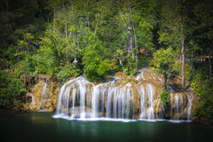 Erawan Nationalpark Ταϊλάνδη Στοκ Φωτογραφίες