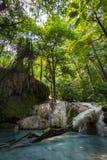 Erawan Nationalpark Таиланд стоковая фотография rf