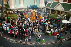 Erawan Shrine Stock Photos