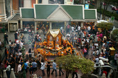 Erawan Shrine Stock Photography
