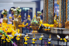 Erawan Shrine in Bangkok,Thailand Royalty Free Stock Image