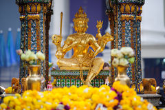 Erawan Shrine in Bangkok,Thailand Stock Photography