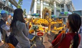 Erawan Shrine in Bangkok Royalty Free Stock Photography