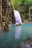 Erawan siklawa, Tajlandia Fotografia Royalty Free