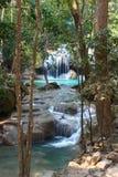 erawan thailand vattenfall Arkivbild