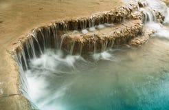 Erawan vattenfall. arkivbild