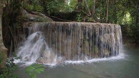 Erawan vattenfall arkivfilmer
