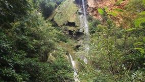 Erawan vattenfall lager videofilmer