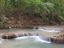 erawan vattenfall Arkivbilder