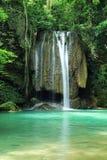 Erawan Wasserfall Stockfoto