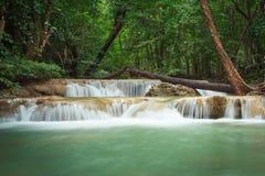 Erawan Wasserfall Lizenzfreies Stockbild