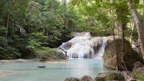 Erawan Wasserfall lizenzfreie stockbilder