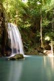 Erawan Wasserfall, Kanchanaburi, Thailand Lizenzfreie Stockfotos