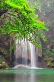 Erawan-Wasserfall Nationalpark lizenzfreies stockbild